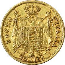 Zlatá mince 20 Lira Napoleon Bonaparte 1808