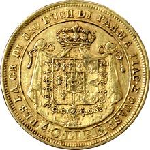 Zlatá mince 40 Lira Marie Luisa Habsbursko-Lotrinská 1815
