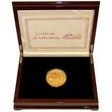 Zlatá mince 5 Oz Moskevský Kreml Kremlin Series 2011 Proof