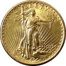 Zlatá mince American Double Eagle 1914