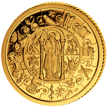 Zlatá mince Apoštol Pavel 1 Kg Puzzle 2009 Proof