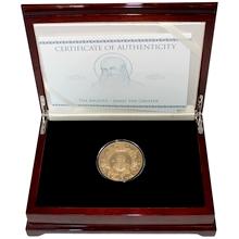 Zlatá mince Apoštol Jakub 5 Oz 2014 Proof