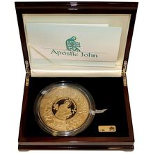 Zlatá mince Apoštol Jan 1 Kg Puzzle 2011 Proof
