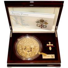 Zlatá mince Apoštol Petr 1 Kg Puzzle 2009 Proof