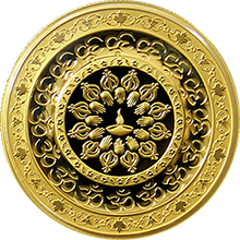 Zlatá minca Diwali: Festival svetiell 1 Oz 2015 Proof