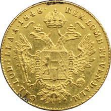 Zlatá mince Dukát Ferdinanda I. 1848