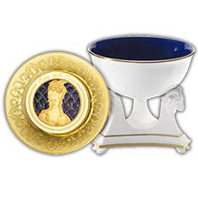 Zlatá mince 1 Kg Excellence a la Francaise - Sevreský porcelán 2015 Proof