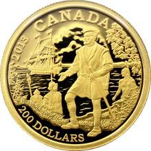 Zlatá minca Jacques Cartier 2013 Proof