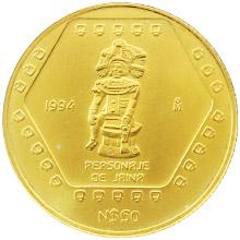 Zlatá mince Mayové - Jaina 1/2 Oz 1994 Standard