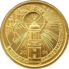 Zlatá minca 2500 Kč Klementinum v Praze 2006 Štandard