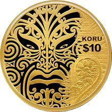 Zlatá minca 1 Oz Koru Maori Art 2013 Proof