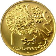 Zlatá mince 10000 Kč Pražský groš 1995 Standard
