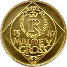Zlatá mince 5000 Kč Malý groš 1996 Standard