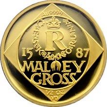 Zlatá mince 5000 Kč Malý groš 1996 Proof