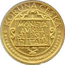 Zlatá mince 1000 Kč Třídukát slezských stavů 1996 Standard
