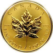 Zlatá minca Maple Leaf 1 Oz 2014 Proof