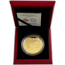 Zlatá minca 5 Oz Povest o Kermodském medveďovi 2014 Proof