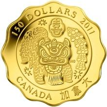 Zlatá minca Požehnanie blaženosti Lotos 2011 Proof (.99999)