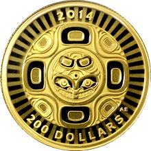 Zlatá minca Prepojenie: More - Orca 1/2 Oz 2014 Proof