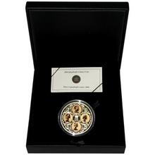 Zlatá minca Quadruple Cameo 2004 Proof