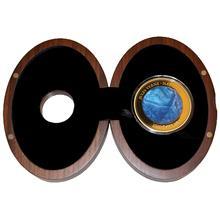 Zlatá mince 5 Oz Jules Verne Nautilus 2014 Perleť Proof