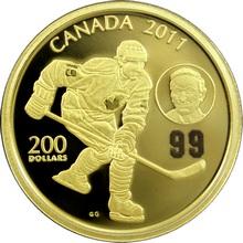 Zlatá minca Wayne & Walter Gretzky 2011 Proof