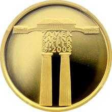 Zlatá minca 2000 Kč Zámok Kačina Empír 2004 Proof
