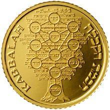 Nejmenší zlatá medaile Kabala 2009 Proof