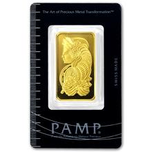 31,1g PAMP Investiční zlatý slitek