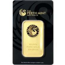 100g Perth Mint Investičná zlatá tehlička
