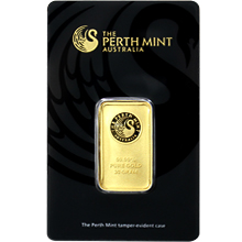 20g Perth Mint Investiční zlatý slitek