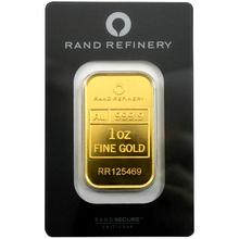 31,1g Rand Refinery Investičná zlatá tehlička