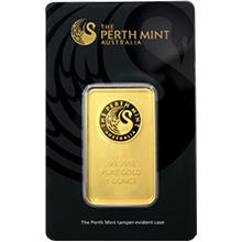 31,1g Perth Mint Investičná zlatá tehlička