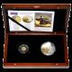 Sada zlaté a stříbrné mince Mikuláš Koperník 2008 Proof Cook Islands