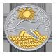 Stříbrná mince Pozlacený klokan 2009 $1 1oz