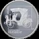 Stříbrná mince 200 Kč První osobní automobil ve střední Evropě 100. výročí 1997 Proof