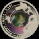 Stříbrná mince První výstup do vesmíru 1 Oz 2009 Proof