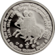 Stříbrná medaile Řád templářů 2012 Proof