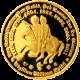 Zlatá půluncová medaile Řád templářů 2012 Proof