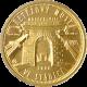 Zlatá mince 2500 Kč Řetězový most ve Stádlci 2008 Standard