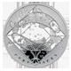 Stříbrná medaile Ryba Znamení zvěrokruhu Proof