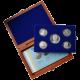 Sada stříbrných pamětních mincí roku 2011 v dřevěné krabičce Proof