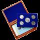 Sada stříbrných pamětních mincí roku 2011 v dřevěné krabičce Standard