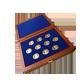 Sada 10 zlatých medailí Prezidenti 2007 Proof