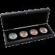 American Eagle Čtyři roční období Sada stříbrných mincí 2012 Standard