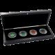 Maple Leaf Čtyři roční období Sada stříbrných mincí 2012 Standard