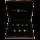 Sedm divů světa sada zlatých mincí 2011 Proof