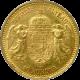 Zlatá mince Desetikoruna Františka Josefa I. Uherská ražba 1904