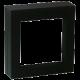 Luxusní transparentní etue - dárkové krabičky 70 x 70 mm