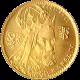 Zlatá mince Karel IV. Jednodukát Československý 600. výročí úmrtí 1980